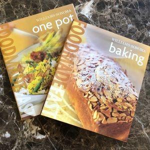 NWT Williams-Sonoma Banking & One Pot Cookbooks